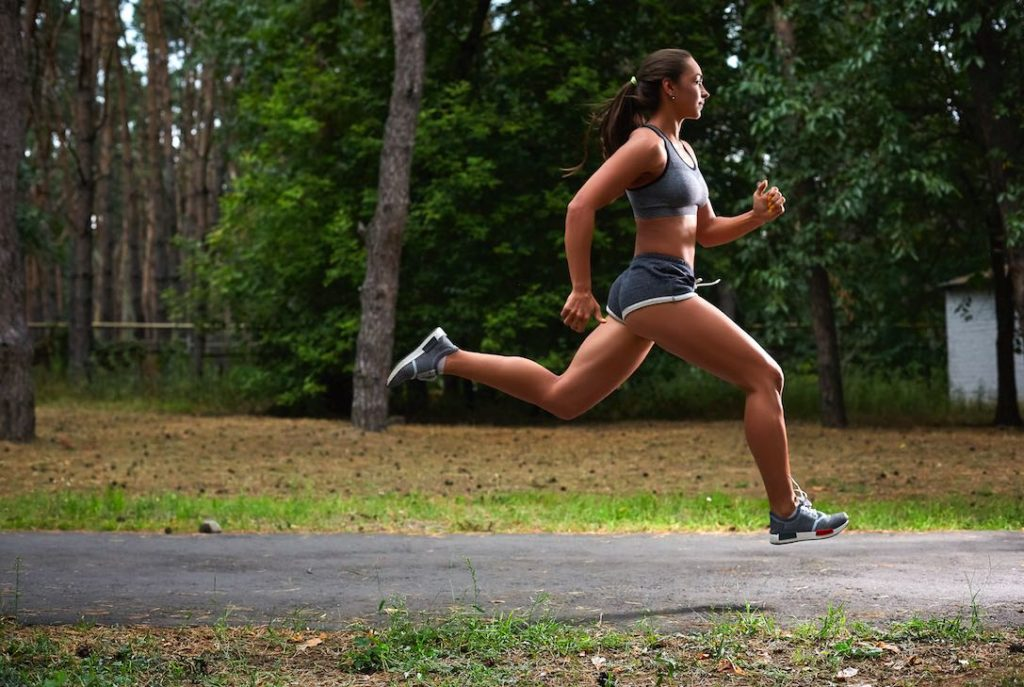 running female itb