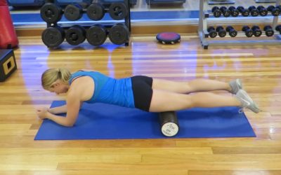 how to foam roll your IT Band